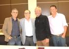 Evento de assinatura das documentações da parceria entre a APROESP e LIBE CONSTRUTORA